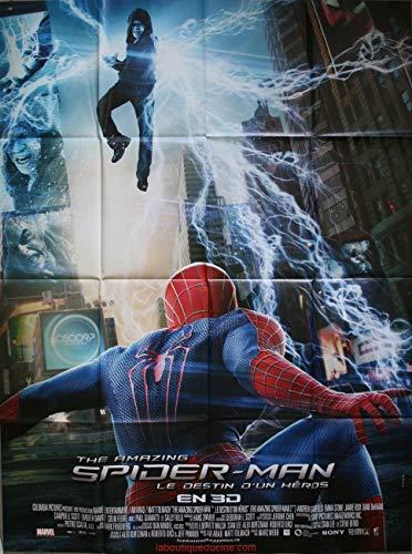 The Amazing Spider Man 2 - Poster cinematografico originale, formato 160 x 120 cm, piegato Marc Webb Andrew Garfield Emma Stone 2014