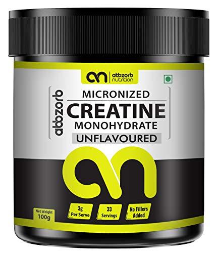 Abbzorb Nutrition Micronised Creatine Monohydrate -100 g