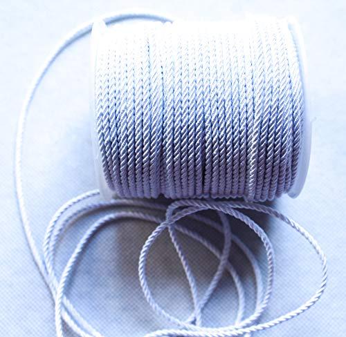 Dorado cord/ón rayon 5.5mm costura bobina de 10 metros creativa Cord/ón trenzado actividad Manual RUBY Decoraci/ón handmade Envio urgente gratis