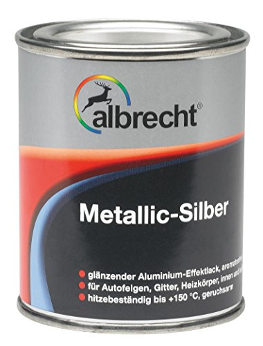 Lackfabrik J. Albrecht GmbH & Co. KG 3400606745000000125 Metallic-Silber 150 °C 125ml