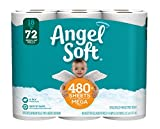Angel Soft Toilet Paper, 18 Mega Rolls, Bath Tissue (1)