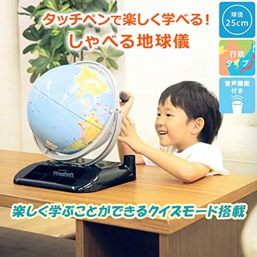 レイメイ藤井地球儀しゃべる国旗付トイ球径25cmOYV403