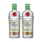 TANQUERAY Rangpur 734133 - Juego de 2 Botellas de Ginebra destilada, Alcohol, 41,3%, 700 ml