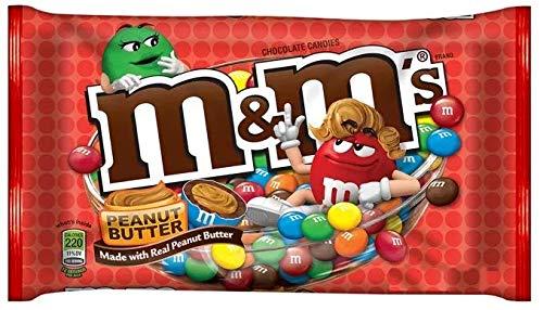 M&M Peanut Butter - Chocolate & Manteiga de Amendoim - Importado dos Estados Unidos