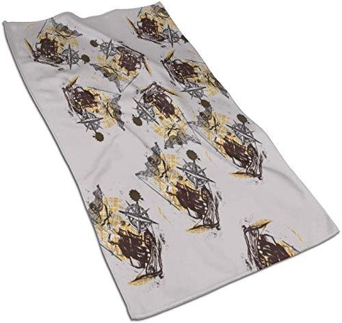 Toallas de Cocina Hammer Viking Norse Painting Galaxy Toallas de Cocina para secar, Limpiar, cocinar, Hornear