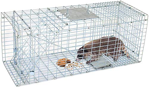 "HomGarden 32"" Live Animal Trap Catch Release Humane Rodent Cage for..."