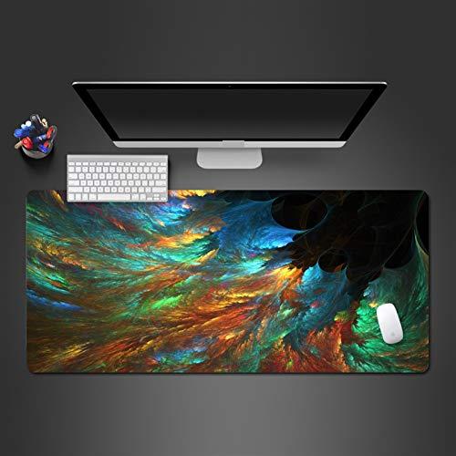 Alfombrilla de ratón de goma para juegos de pintura personalizada, alfombrilla de ratón para computadora (color: 900 x 300 x 2)