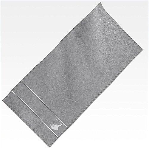 TSG 1899 Hoffenheim Duschtuch Grau 70x140 cm 100 % Baumwolle Fanartikel