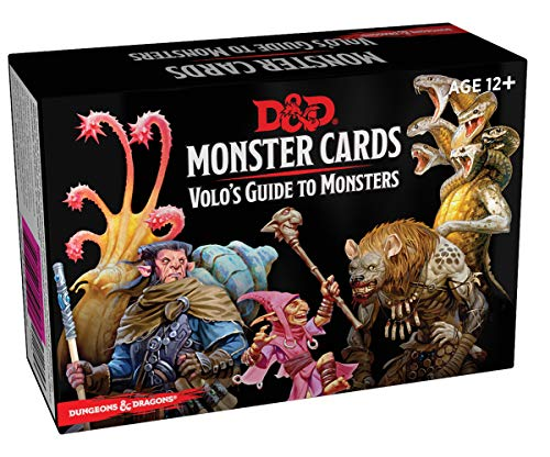 Dungeons & Dragons Spellbook Cards: Volo\'s Guide to Monsters (Monster Cards, D&d Accessory)
