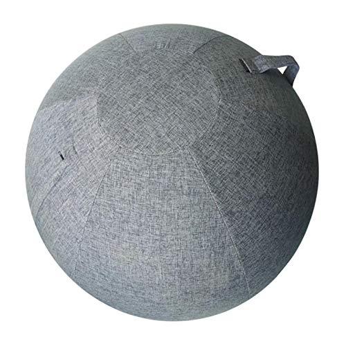 Perfeclan Funda para Pelota de Yoga, Antideslizante 75cm Cubierta de Pelota de Ejercicio de Equilibrio Funda para Silla de Bola sentada - Azul Marino