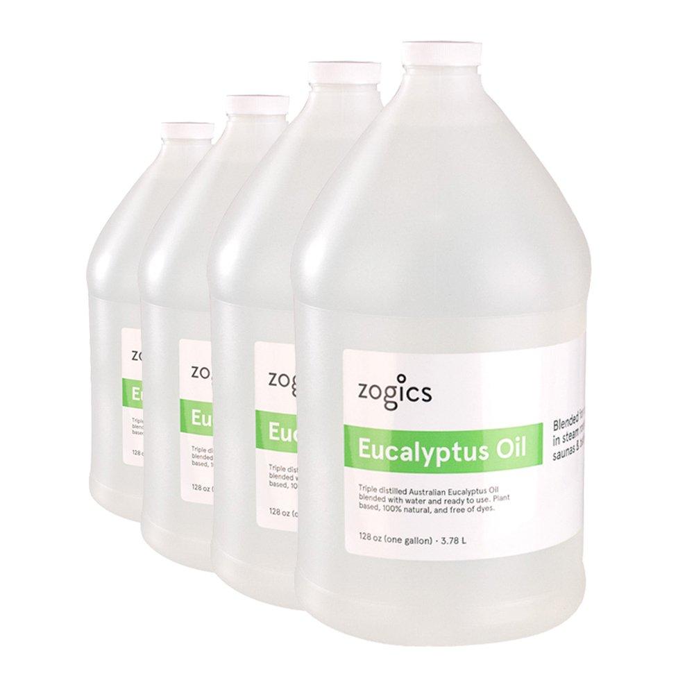 Zogics Eucalyptus Steam Spray Gallons