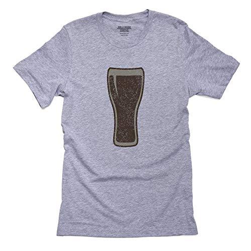 Hollywood - Camiseta para Hombre (100% algodón), diseño con Imagen de la Cerveza