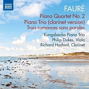 Fauré: Piano Quartet No. 2 & Piano Trio