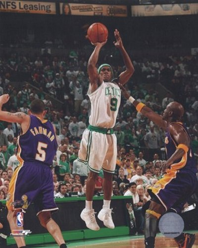 Rajon Rondo Game 1 delle Finali NBA 2008; Action #3 Photo Print (40,64 x 50,80 cm)