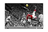 Manchester United Wayne Rooney Fahrradkick-Poster,