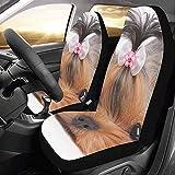 Web--ster-Cars seat covers Fundas de Asiento de Coche Wondering Dog Cute Custom...