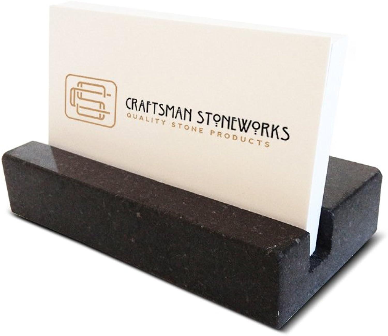 Visitenkartenhalter – Schwarz Absolute Granit B01FZTG284 | Perfekte Perfekte Perfekte Verarbeitung  8c2bee