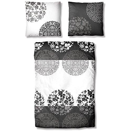 Ecorepublic Home Bettwäsche, Ecorepublic Home, »Sanetra« schwarz Unterstützt Cotton made in Africa