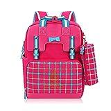 Mochila escolar para niñas Mochila escolar para niños Mochila escolar coreana para niñas Mochila adecuada para niñas