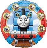Anagram- Pallone Foil Standard 17''-42 cm Trenino Thomas & Friends, Multicolore, 7A2373501