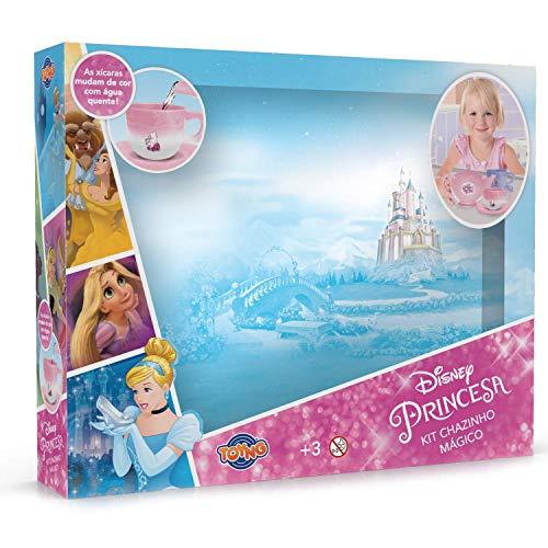 Kit de Chá Troca de Cor Princesas Disney - Toyng