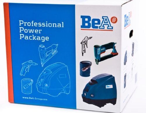 Bea Power Package Kompressor K160-6+Schlauch+Blaspistole+ Tacker 380/16-420