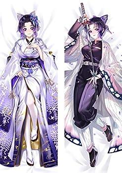 Anime Demon Slayer Kimetsu no Yaiba Kochou Shinobu Cosplay Dakimakura Pillow Case Hugging Body Gift Prop 14 x39