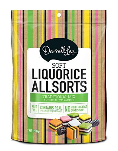 Soft Australian Licorice Allsorts - Darrell Lea 7oz Bag - NON-GMO & NO HFCS - America's #1 Soft Eating Licorice Brand!