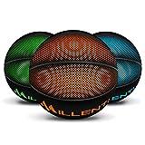 Millenti Cool Basketball Outdoor Indoor - Premium Rubber Basketballs Official Size 7 with High-Visibility, Easy-to-Track Designs, Precision Orange Basketball - 29.5, BB0307OG, BB0207OG, BBPGBORANGE