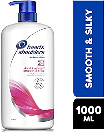 Head & Shoulders Smooth & Silky Anti-Dandruff Shampoo, 1000 ml