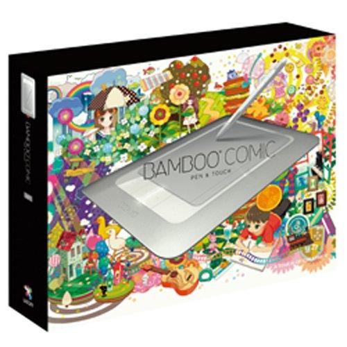 Wacom ペンタブレット Sサイズ デジ絵作成入門機 コミスタMini付属 Bambooコミック CTH-461 S1