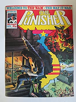 The Punisher No 4  Marvel UK 26 August 1989  Final Solution + The  Nam!