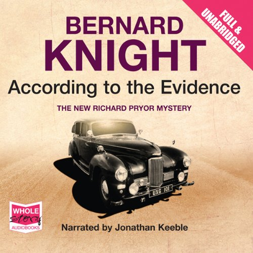 According to the Evidence audiobook cover art