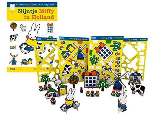 Unbekannt Bambolino 32016 - Miffy Cartboard Building Schem