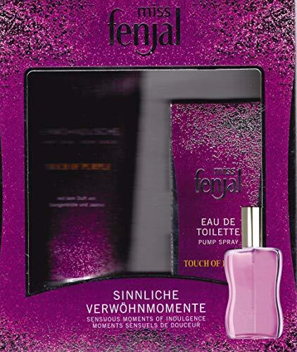Miss Fenjal Touch of purple Geschenk-Set Eau de Toilette Spray 50 ml + Duschgel 200 ml