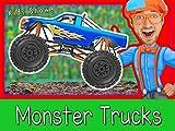 Explore A Monster Truck with Blippi - Monster Trucks for Kids