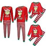 TLLW Pijamas de Navidad Familia a juego de Navidad Alien Pijamas Conjunto de Marvel Regalos para Niñas a juego Pijamas de Navidad