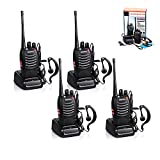 4pcs Baofeng Walkie Talkie, BF-888S Two Way Radio...