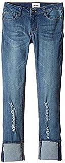 ハドソン Hudson Kids キッズ 女の子 ジーンズ ジーパン デニム Sanded Wash Ginny Crop Jeans in Sande [並行輸入品]
