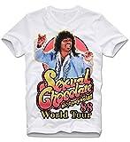 T-Shirt Sexual Chocolate Randy Watson Going to America Eddie Murphy Prinz Von Zamunda Cult Kultfilm S