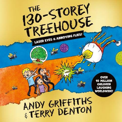 『The 130-Storey Treehouse』のカバーアート