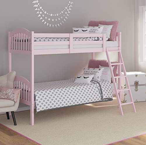 Storkcraft Long Horn Solid Hardwood Twin Bunk Bed