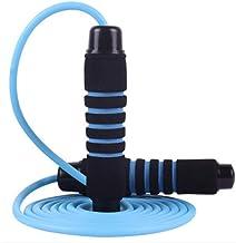 HFDA gewicht dragend springtouw, fitness gewichtsverlies vetverbranding springtouw (blauw)