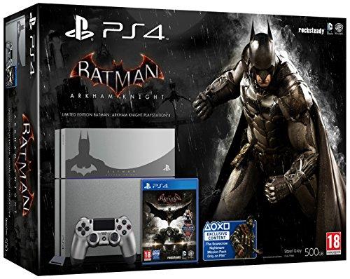 PS4 Steel Grey + Batman Arkham Knight [Bundle Limited]...