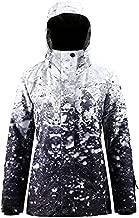 SMN Snow Jacket Womens Ski Jacket and Pants Ski Coat Women Snowboard Jackets Snow Coat Warm Winter Waterproof, 910, Small