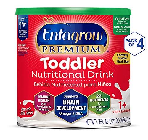 Enfagrow Premium Omega 3 DHA Prebiotics Non-GMO (Formerly Toddler Next Step) Toddler Nutritional...