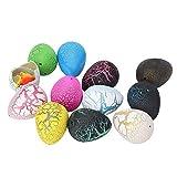 12 Huevos para incubar de Dinosaurio, Juguete de Huevos de Dinosaurio, Juguete...