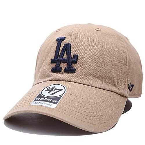 [フォーティセブン] 47 キャップ ドジャース カーキ MLB Dodgers LA ロゴ 47brand 帽子 cap ローキャップ メジャーリーグ B-NLRGW12GWS-KH