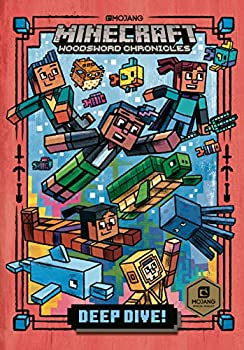 Deep Dive!  Minecraft Woodsword Chronicles #3   A Stepping Stone Book TM