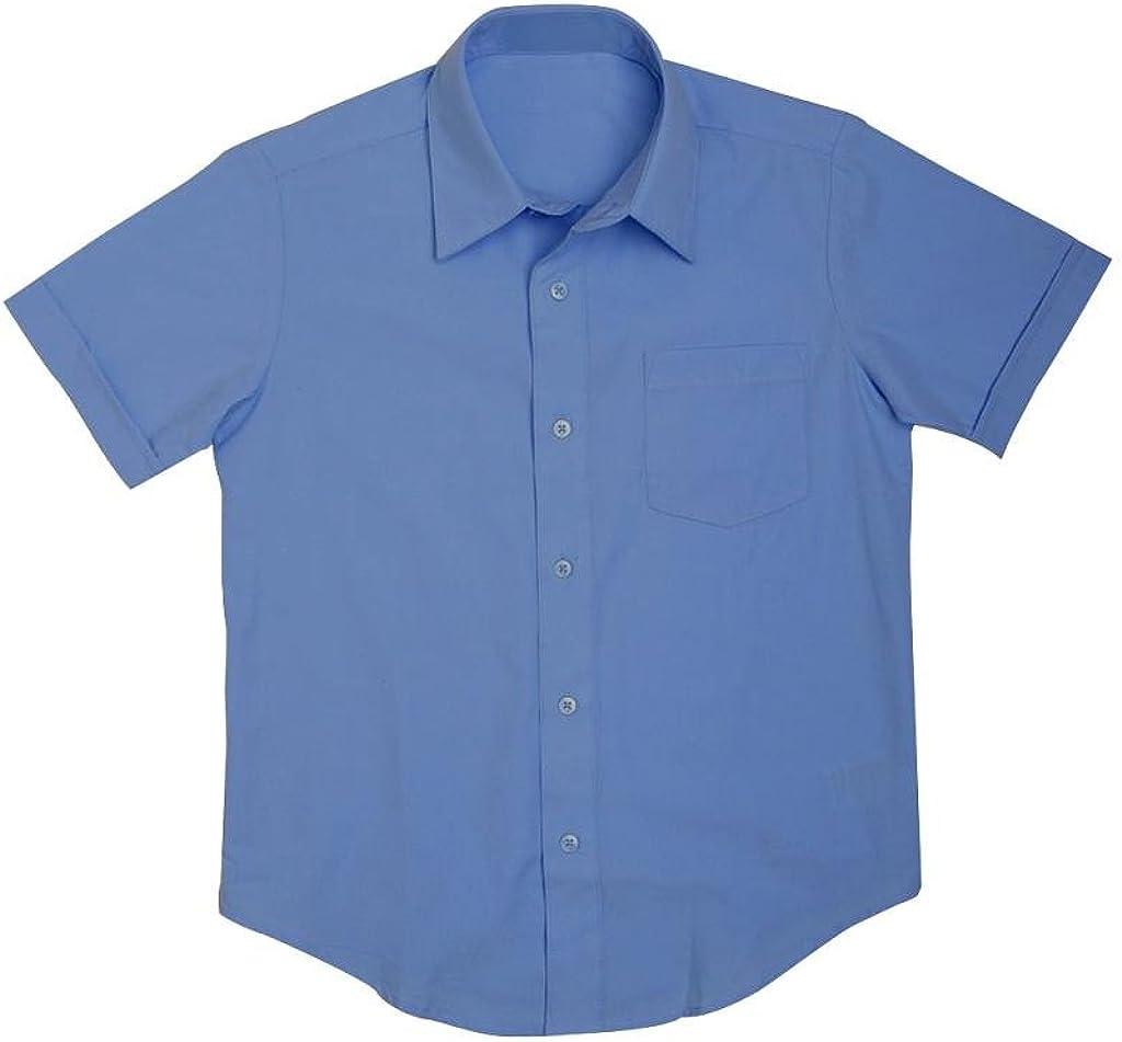 Preferred School Uniform Boy's School Uniform Short Sleeve Shirt